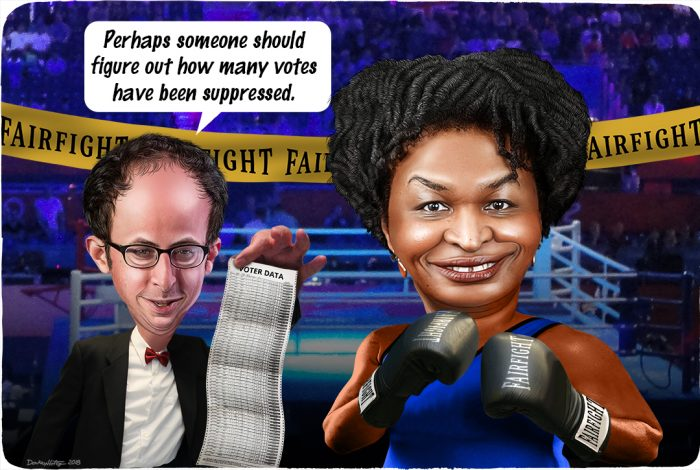 voter suppression, Nate Silver, Stacey Abrams