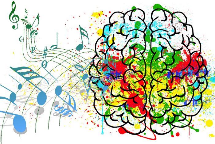 brain, music