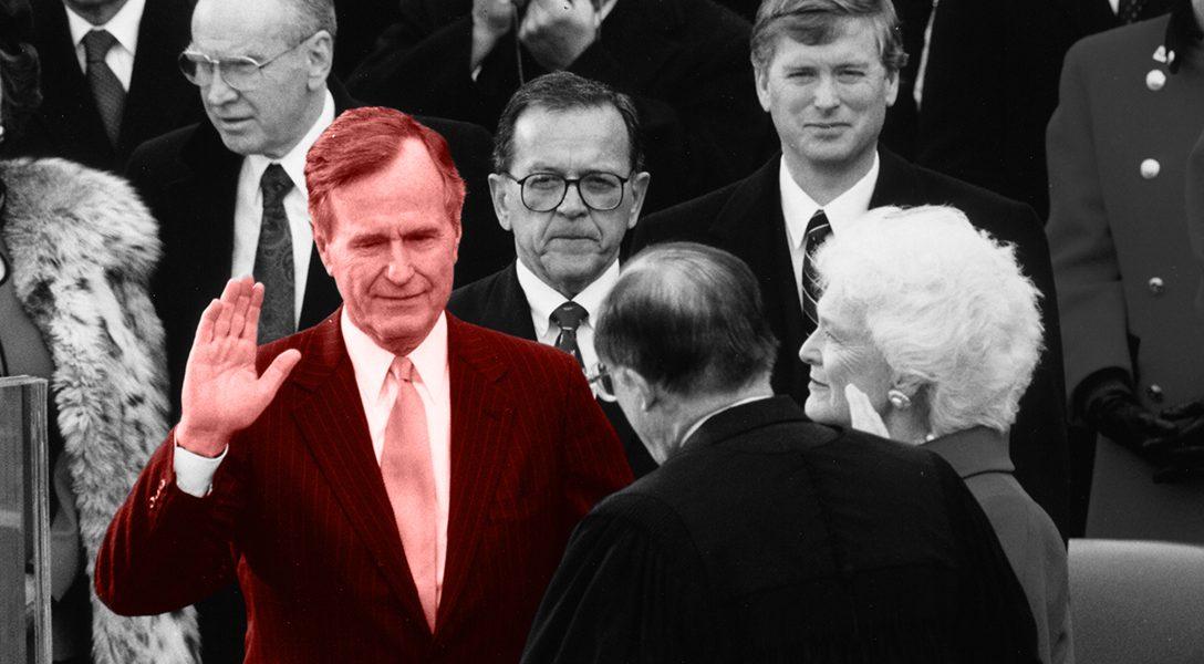 Inaugural ceremonies, George H. W. Bush