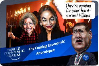 Davos, Alexandria Ocasio-Cortez, Elizabeth Warren, Scott Minerd