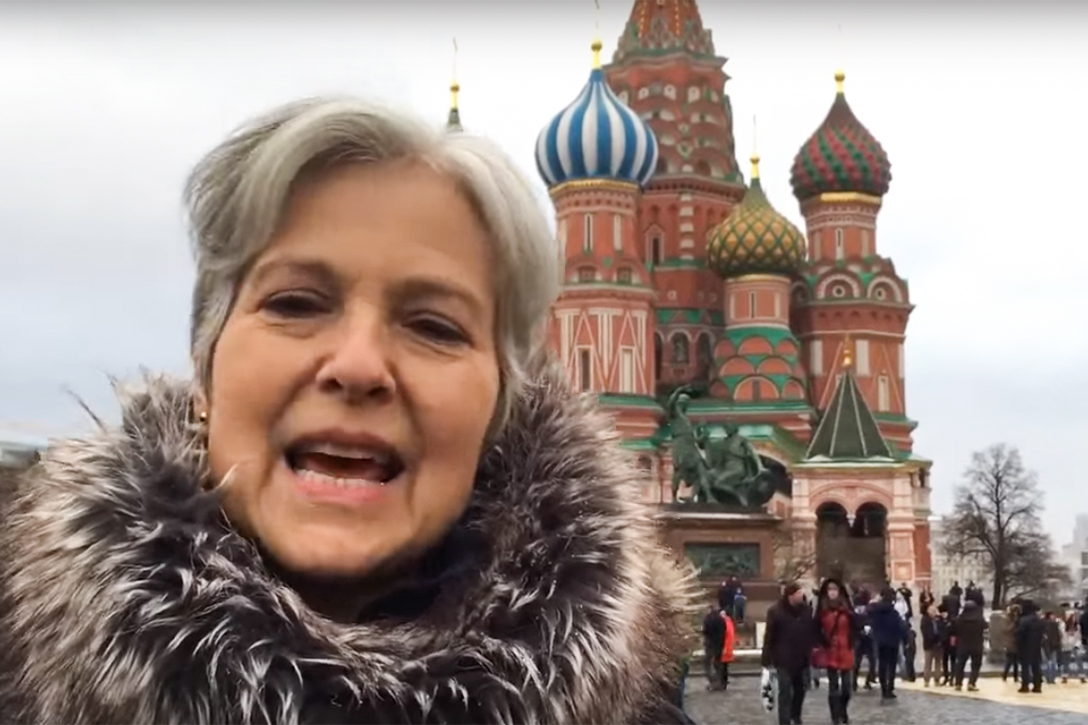 Jill Stein, Moscow, Green Party
