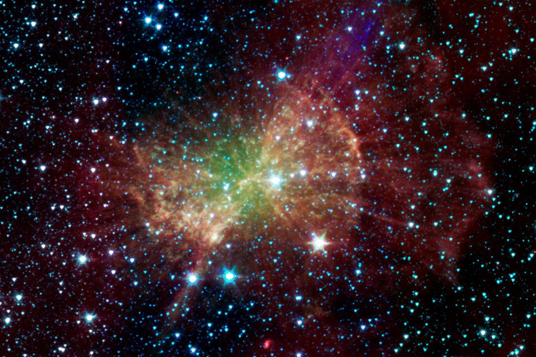 space, radio waves, aliens