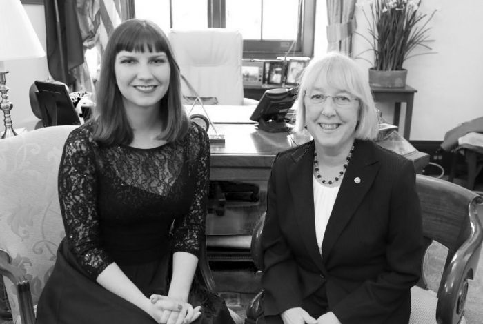 Leah Griffin, Senator Patty Murray