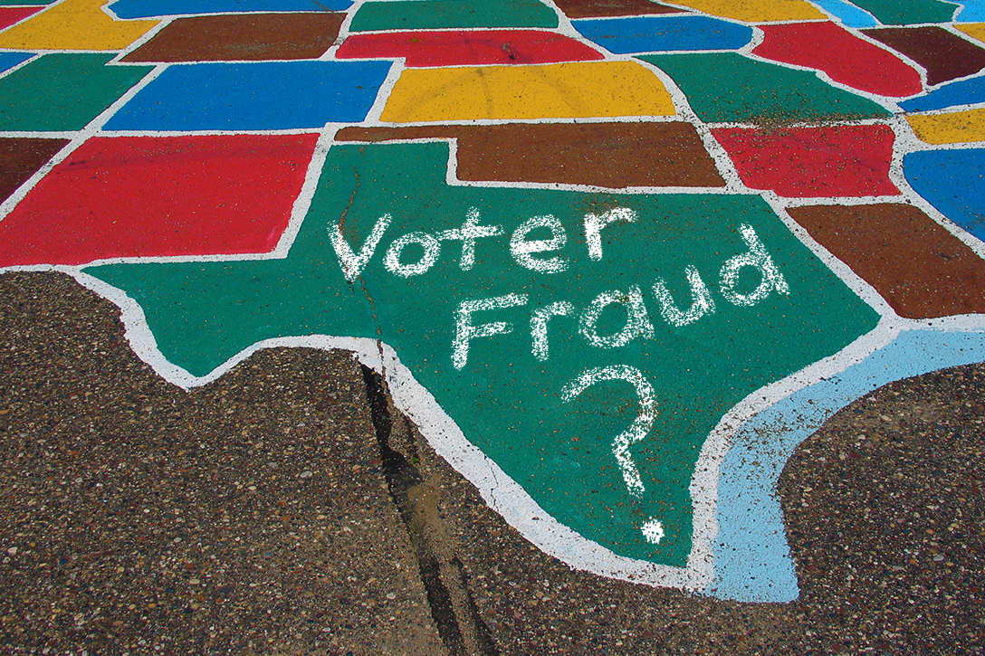 Texas, voter fraud