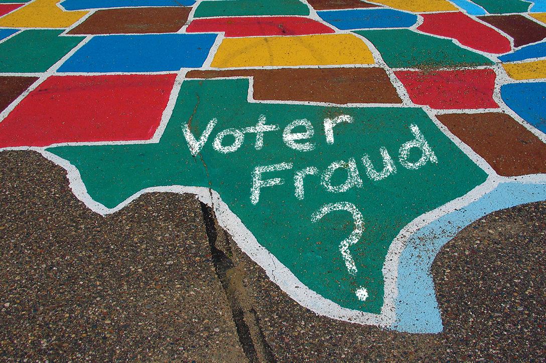 Texas, voter fraud