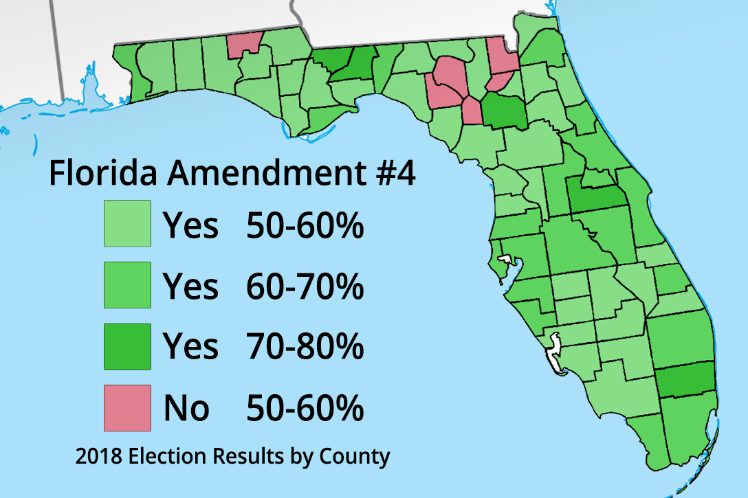 Amendment 4 election results