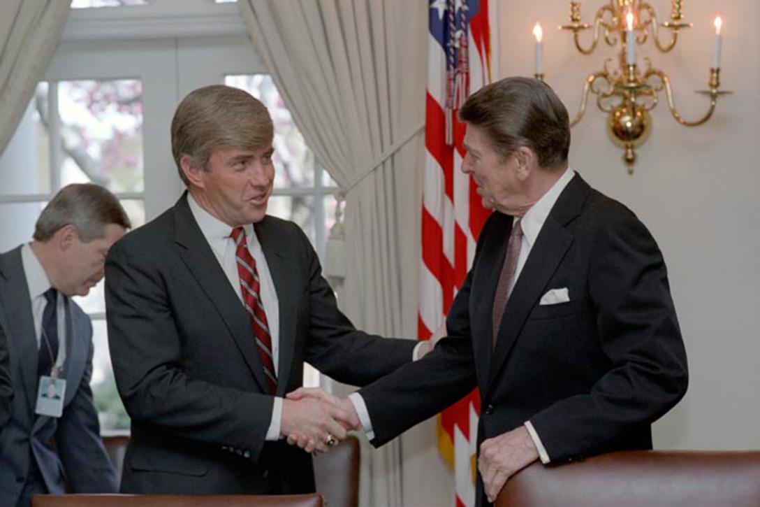 Jack Kemp, Ronald Reagan