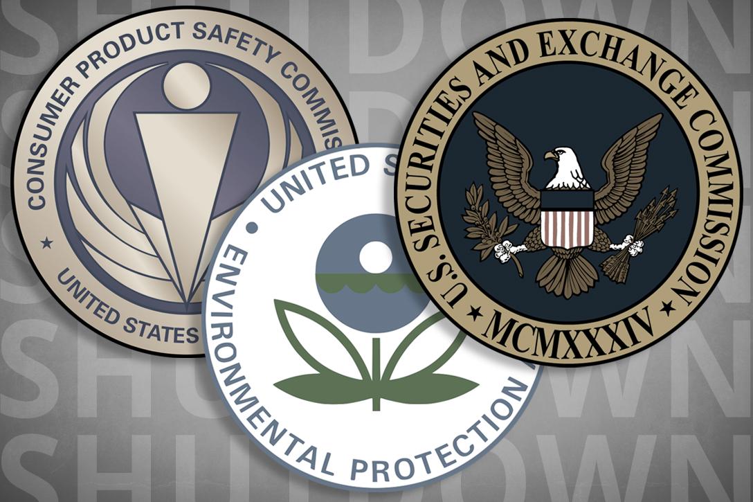 CPSC, SEC, EPA
