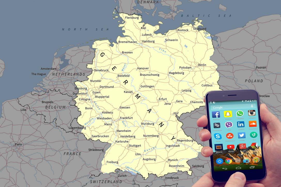 Germany, social media