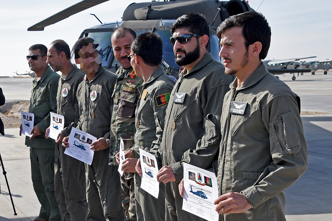 Afghan Air Force, pilots, UH-60 Black Hawk
