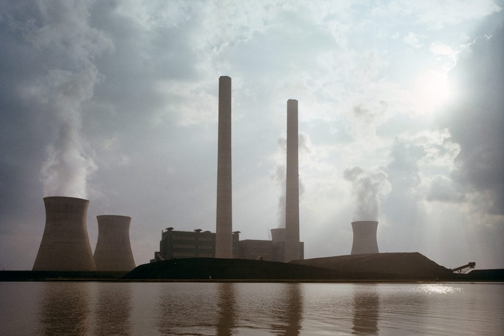 Georgia Power Company, coal-fired power plant