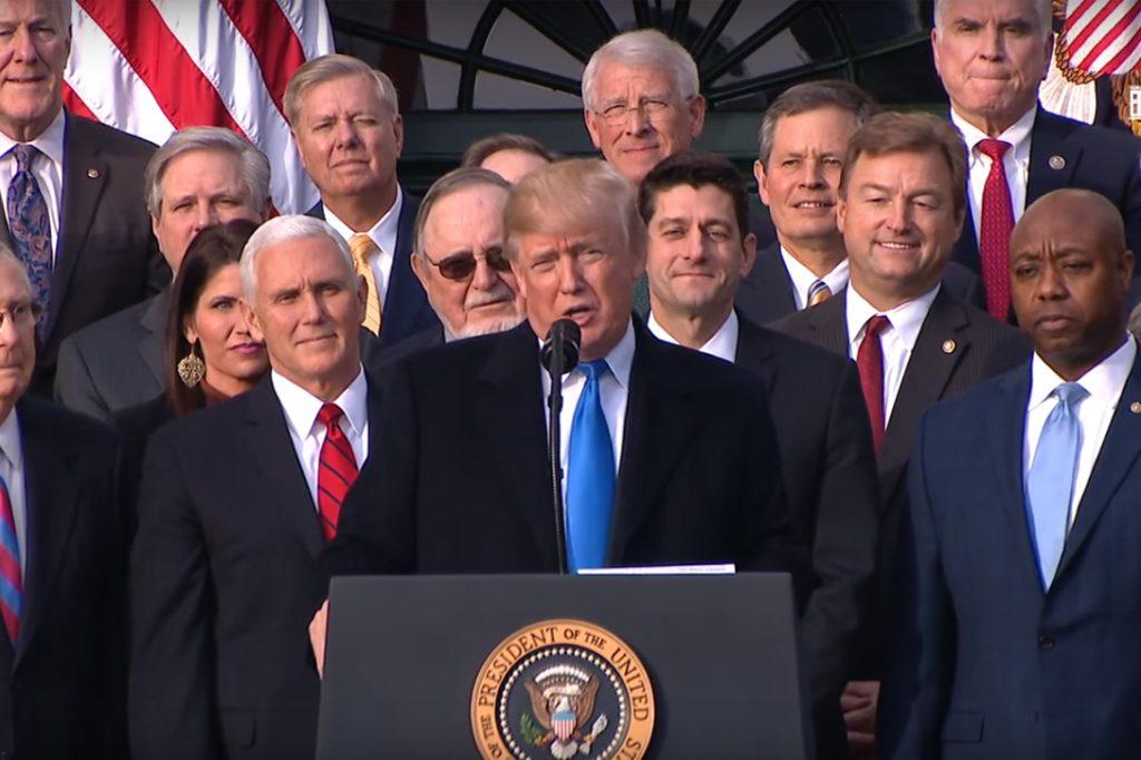 Donald Trump, Tax Cuts