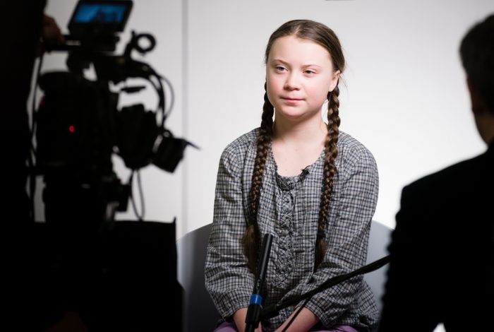Greta Thunberg of Sweden