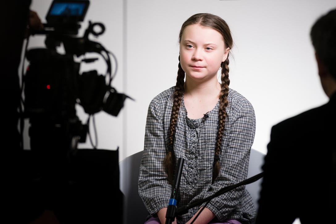 Greta Thunberg of Sweden