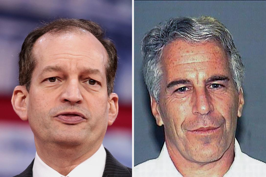 Alexander Acosta, Jeffrey Epstein