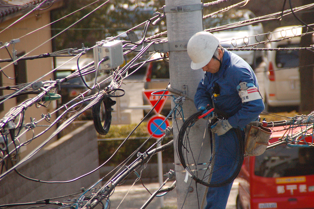 Japan, internet, fiber optic