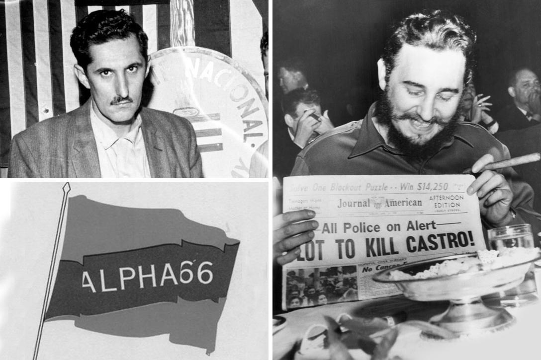 Antonio Veciana, Fidel Castro, Alpha-66