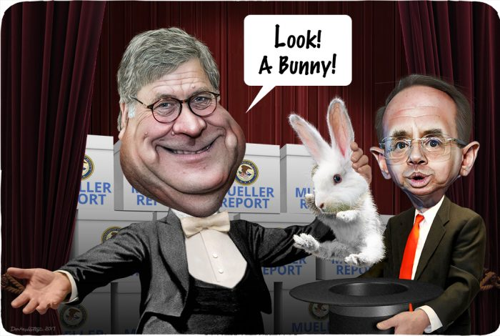 William Barr, Rod Rosenstein, Mueller Report