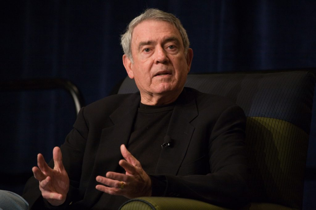 Dan Rather, speaking