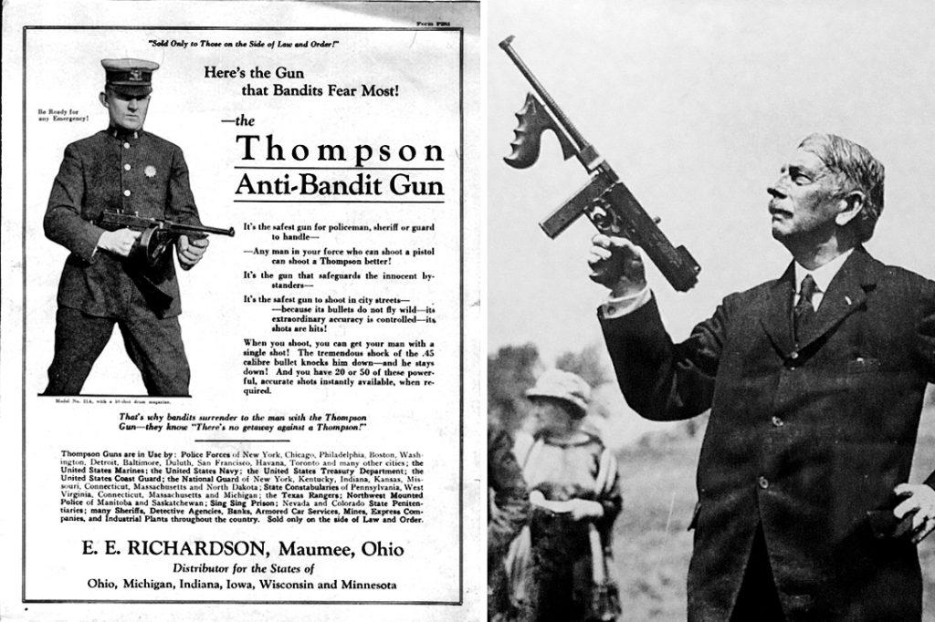 Tommy gun, General John Taliaferro Thompson