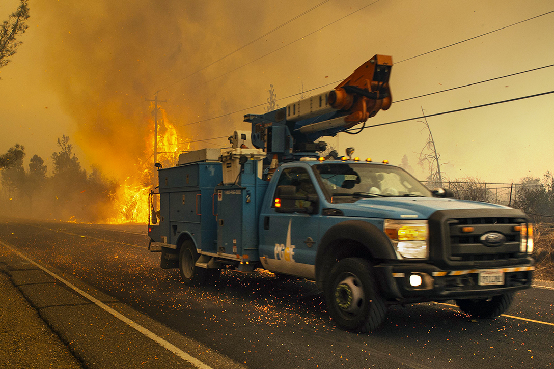 PG&E, Camp Fire, Paradise