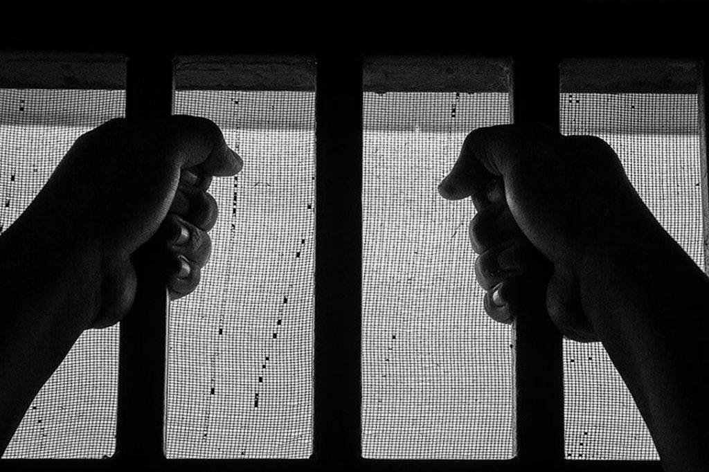 prison, hands