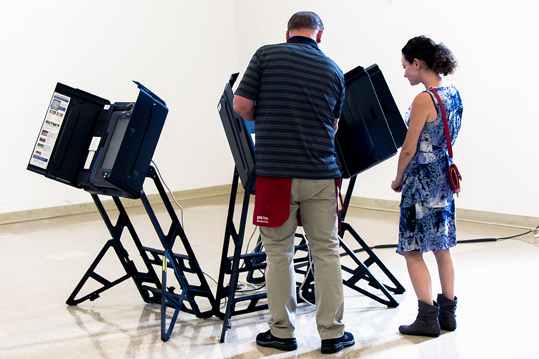 ES&S voting machine