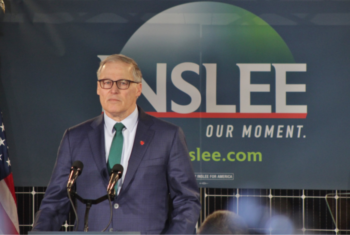 Jay Inslee, climate change