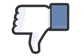Facebook, dislike