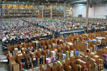 Amazon, workers, warehouse