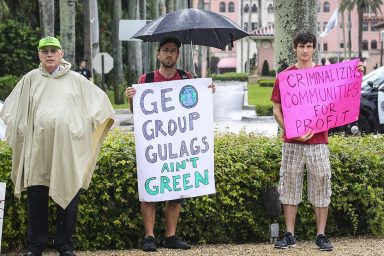 Geo Group Protest