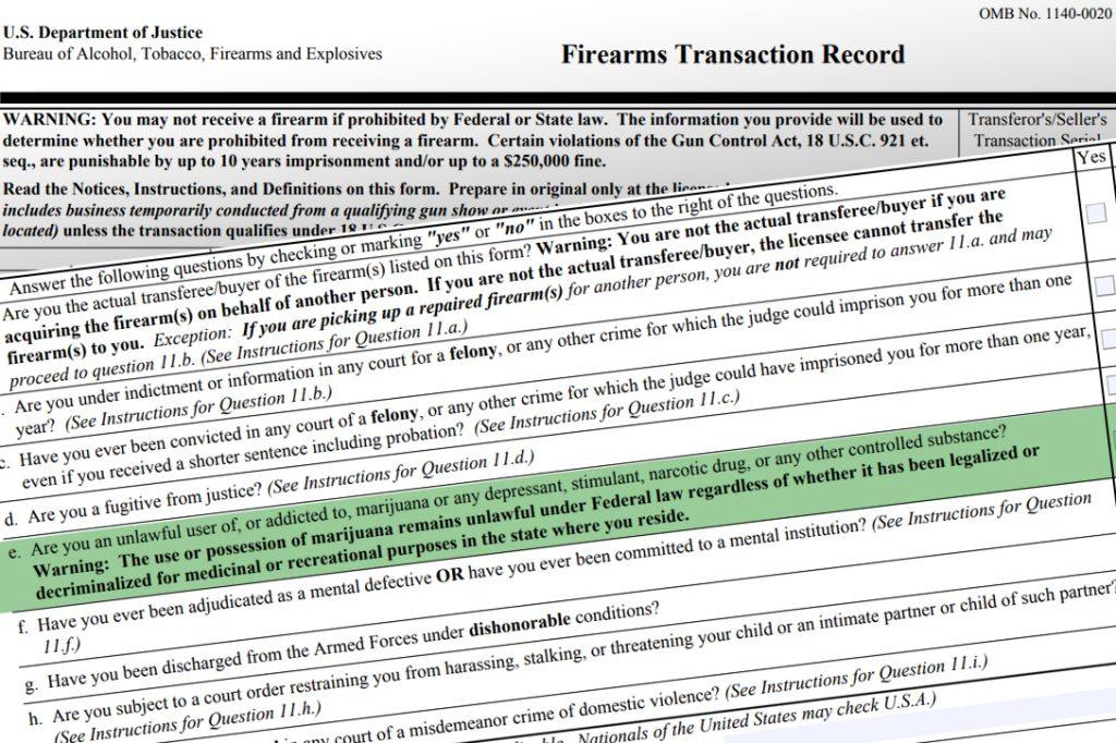ATF, form 4473