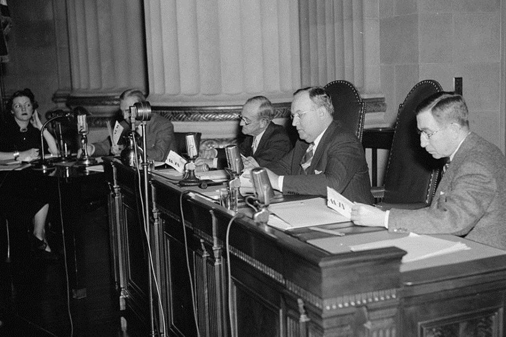FCC Radio Monopoly Hearings 1938