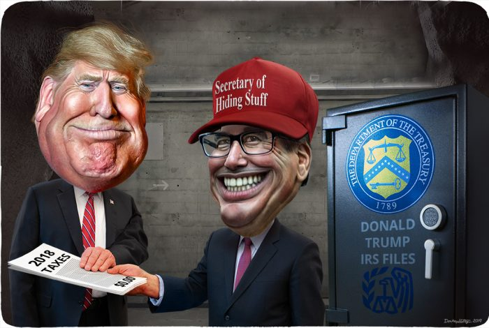 Donald Trump, Steven Mnuchin, tax returns