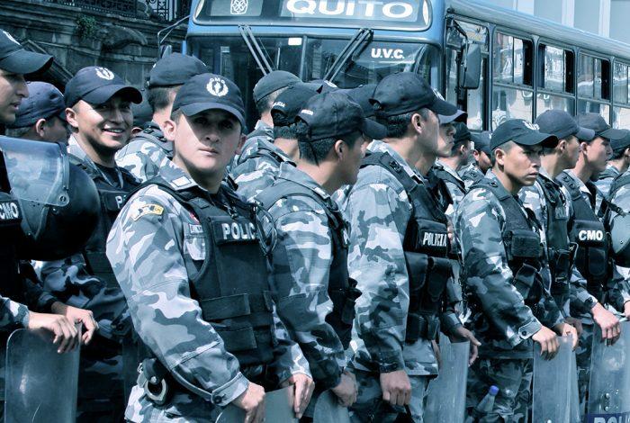 police, Ecuador