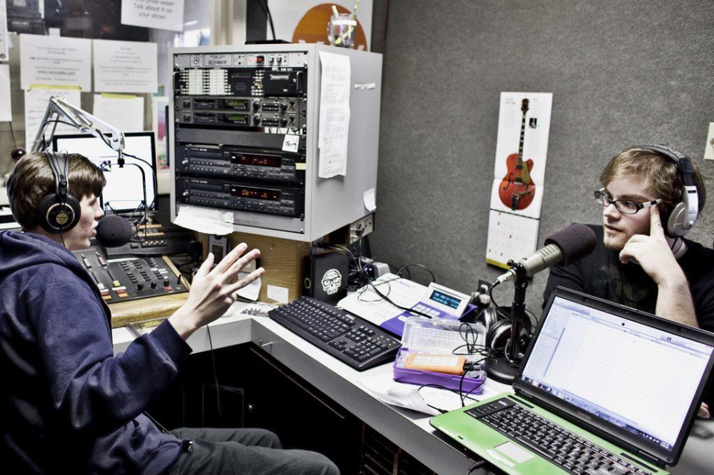 Lehigh Carbon Community College's Radio WXLV The-X Broadcast Suite