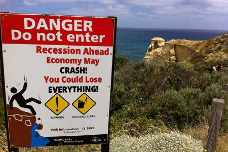 danger, recession