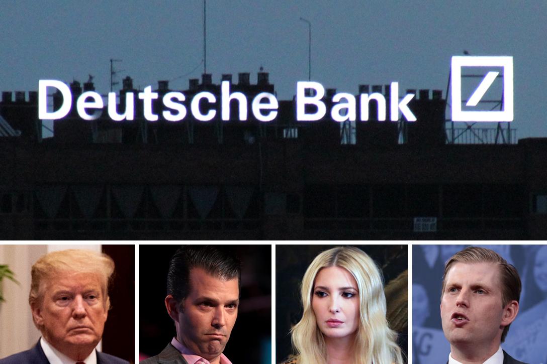 Image result for deutsche bank & Trump