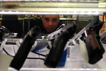 Guns, background checks, fail