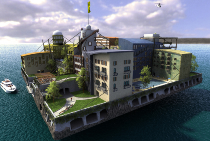 Floating cities, future, climate change