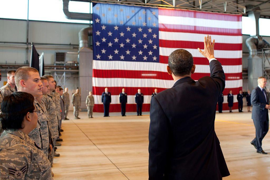 Barack Obama, Ramstein Air Force Base
