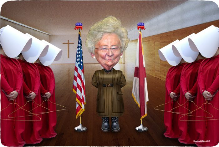 Kay Ivey, Aunt Lydia, handmaids, abortion