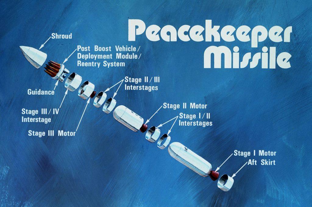 MIRV, Peacekeeper, missile