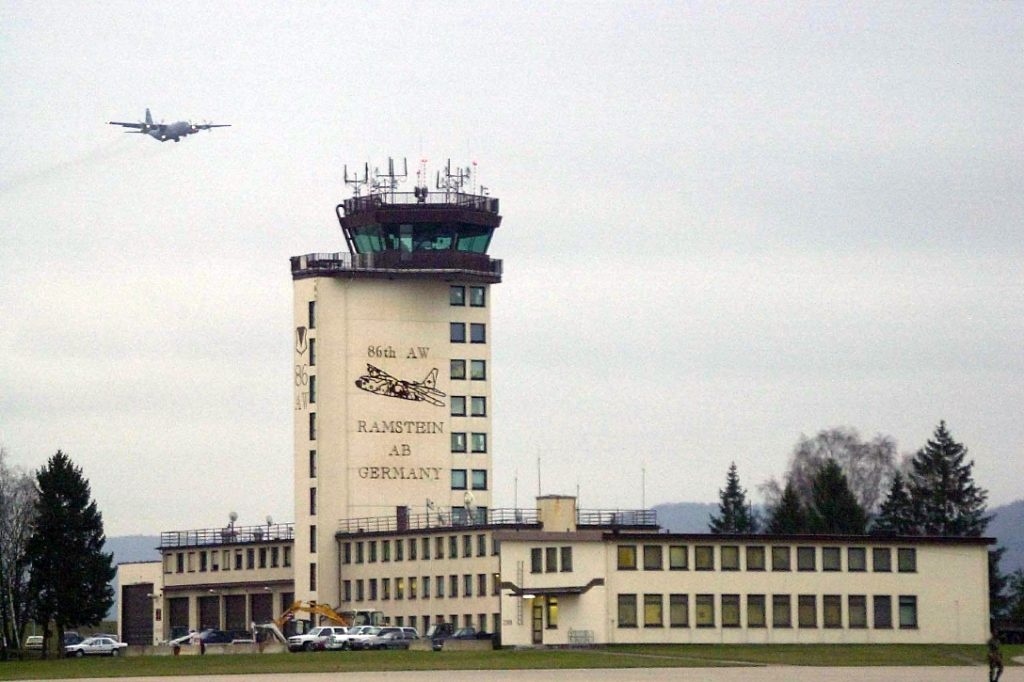 Ramstein, Air Force Base, Control Tower