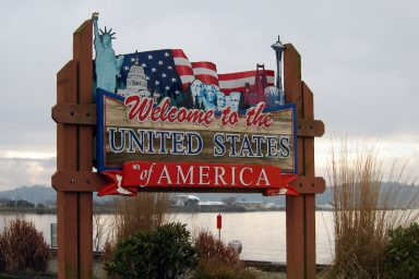 Welcome the United States of America