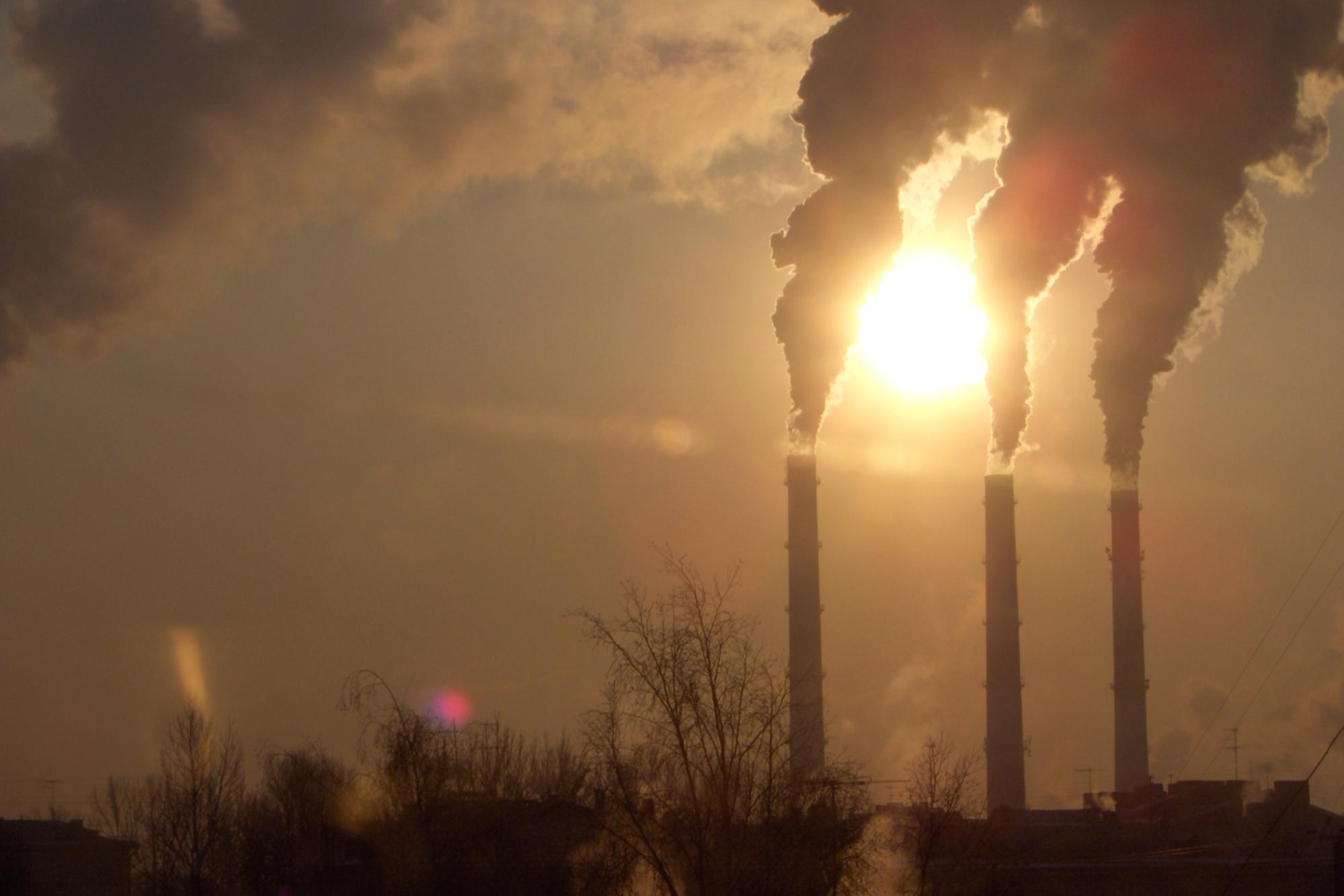 Carbon emissions, climate change