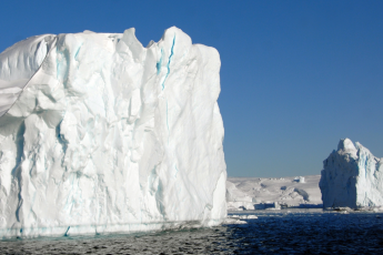 Greenland ice, climate, emissions