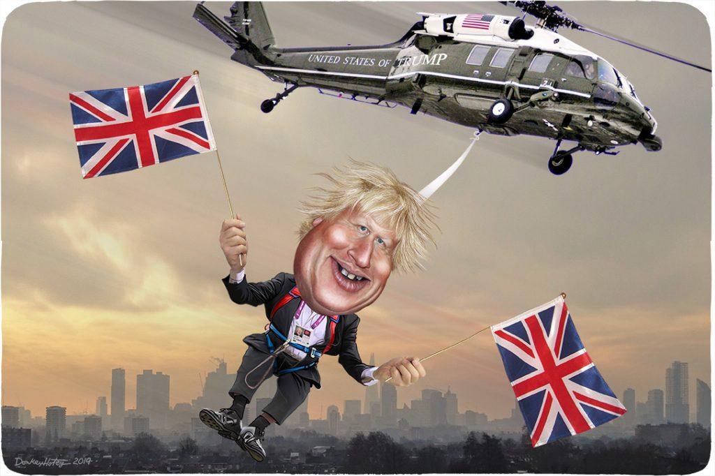 Donald Trump, Boris Johnson