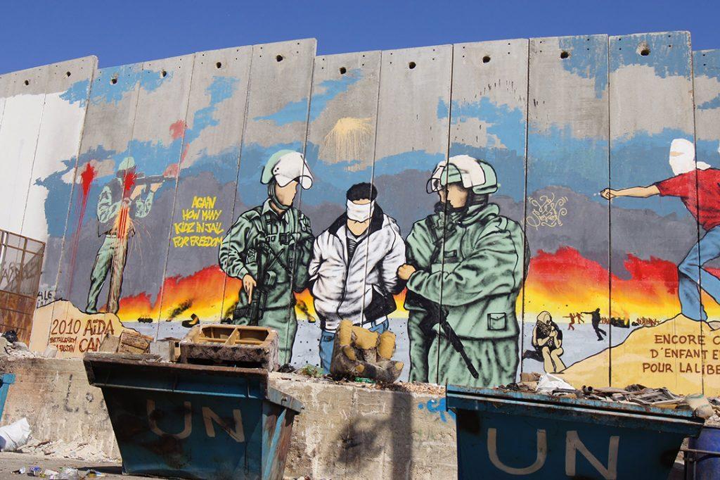 Graffiti, Wall, Bethlehem, Palestine