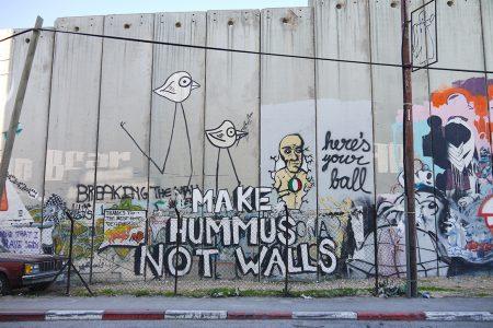 Make Hummus Not Walls, Bethlehem, Palestine